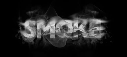 Smokey Typography
