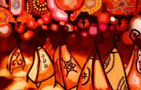 Lámpara de henna