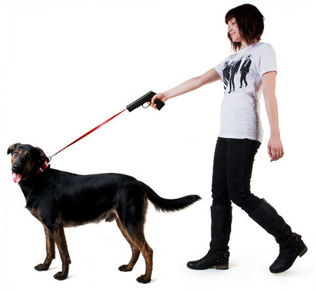 Bad Ideas: The Dog-Walking Leash Gun