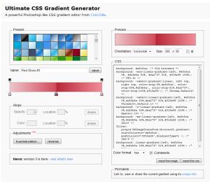 Ultimate CSS Gradient Generator