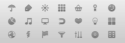 10 sets de iconos minimalistas