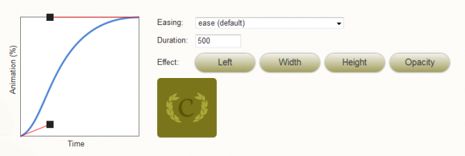 Ceaser - CSS Easing Animation Tool