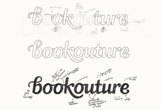 Bookouture by Claire Coullon: Graphic Design & Typography