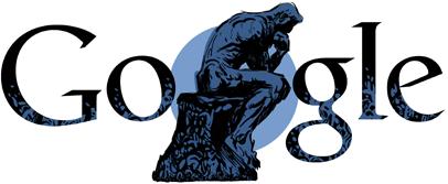 172º aniversario del nacimiento de Auguste Rodin.