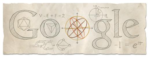 306º aniversario del nacimiento de Leonhard Euler