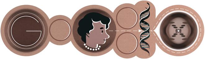 93º aniversario del nacimiento de Rosalind Franklin