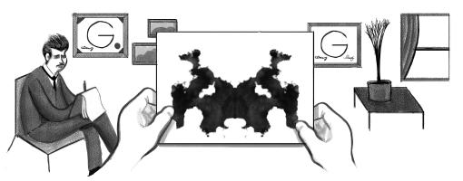 129º aniversario del nacimiento de Hermann Rorschach