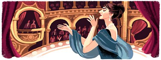 90º aniversario del nacimiento de María Callas