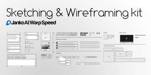 Sketching & Wireframing kit
