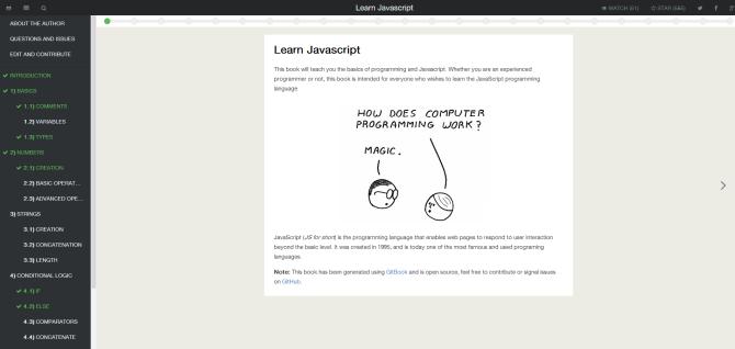 gitbook_LearnJavascript