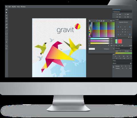 Gravit – unlock your design potential.