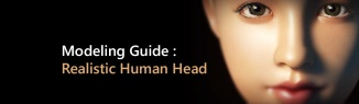 Guide to realistic Head Modeling by Thunder Cloud Studio